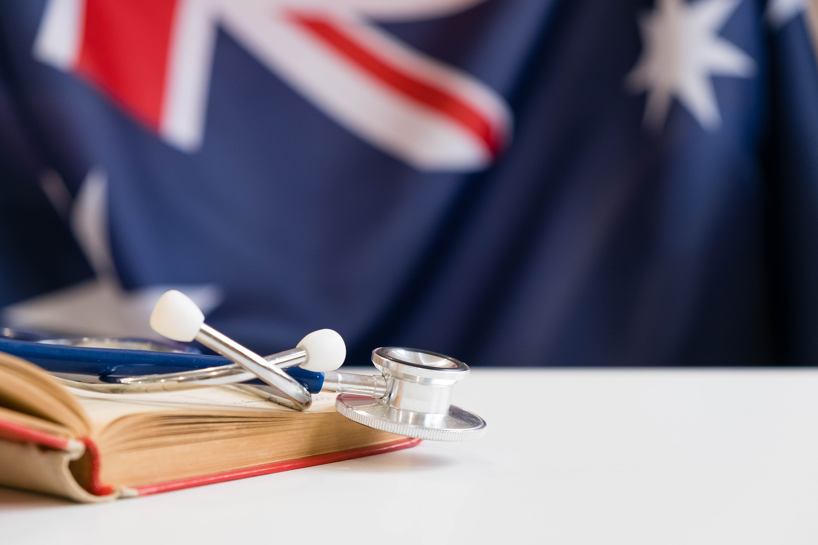 Stethoscope with national flag conceptual series - Australia