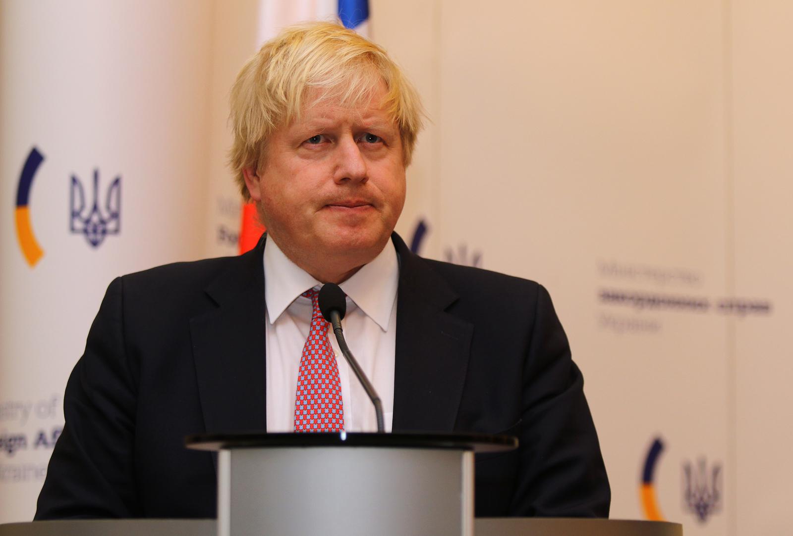 Boris Johnson English Prime Minister